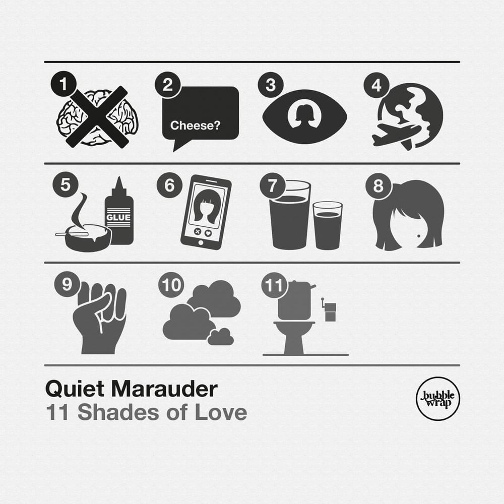 Quiet Marauder – 11 Shades Of Love
